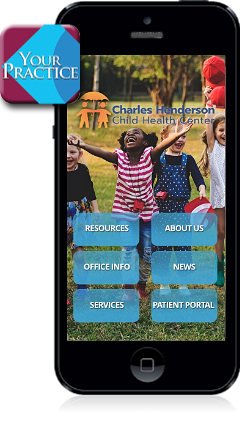 Charles Henderson Child Health Center Mobile App